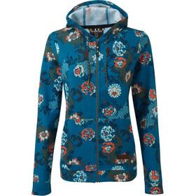Sherpa Meytho Full-Zip Hoodie Women raja blue